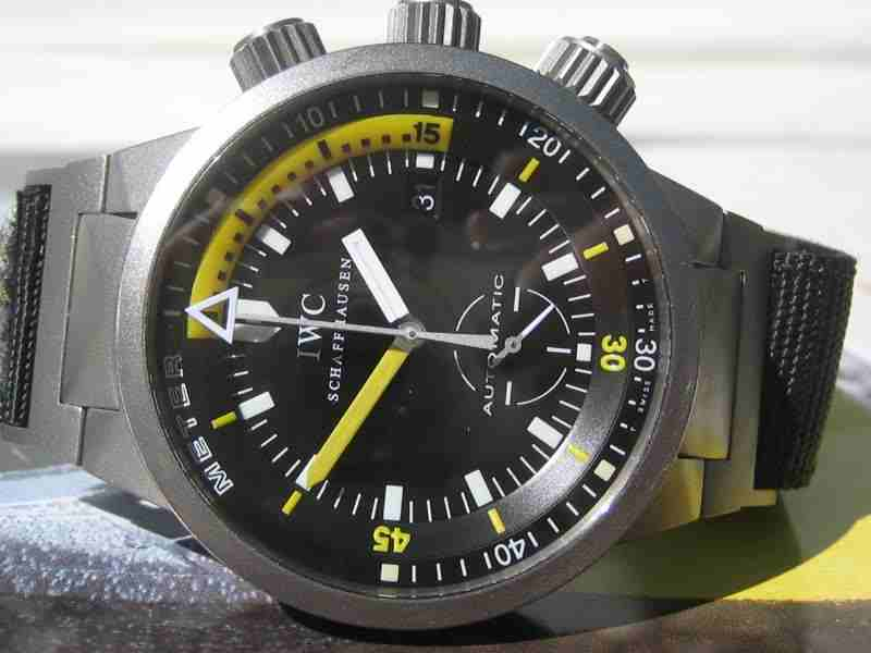 Die IWC Deep One – Taucheruhr pur