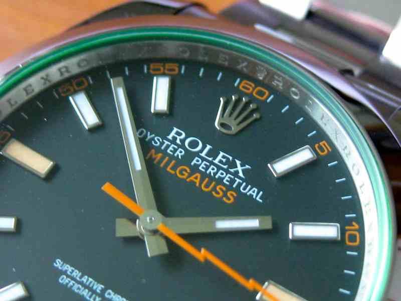 Rolex Milgauss Referenz 116400GV