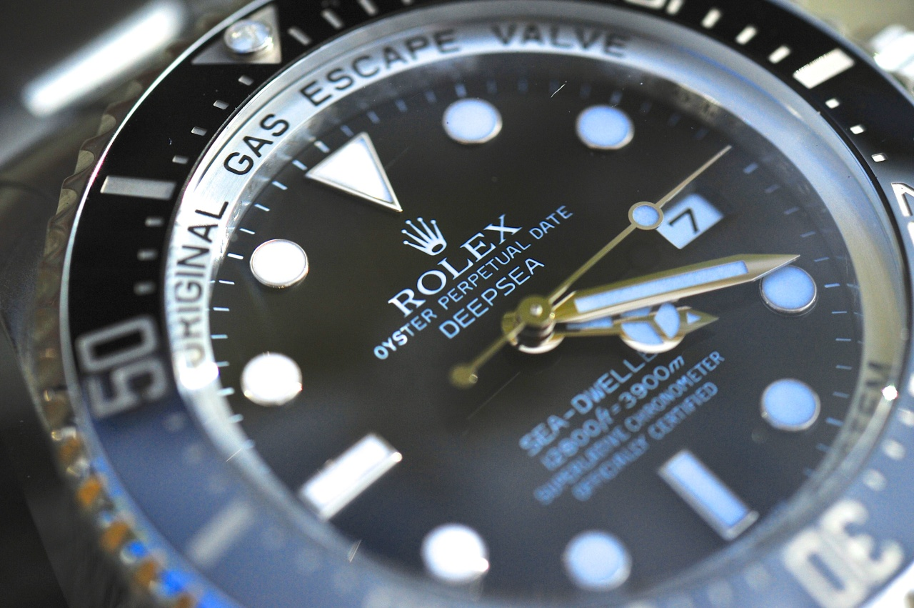 Rolex Deep Sea und Rubber B