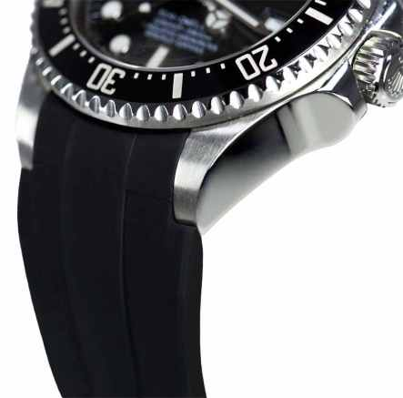 Black-Rubber-B-Front-Profile-For-The-Rolex-Deep-Sea-840x830