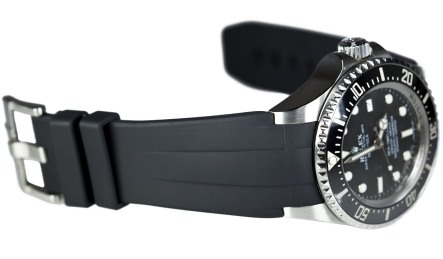 Black-Rubber-B-Profile-for-the-Rolex-DEEP-SEA-