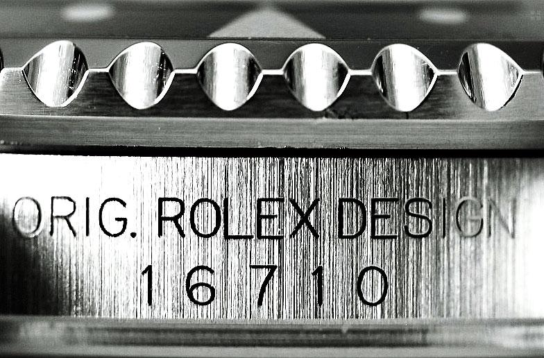 Die Rolex GMT Master II Ref.16710