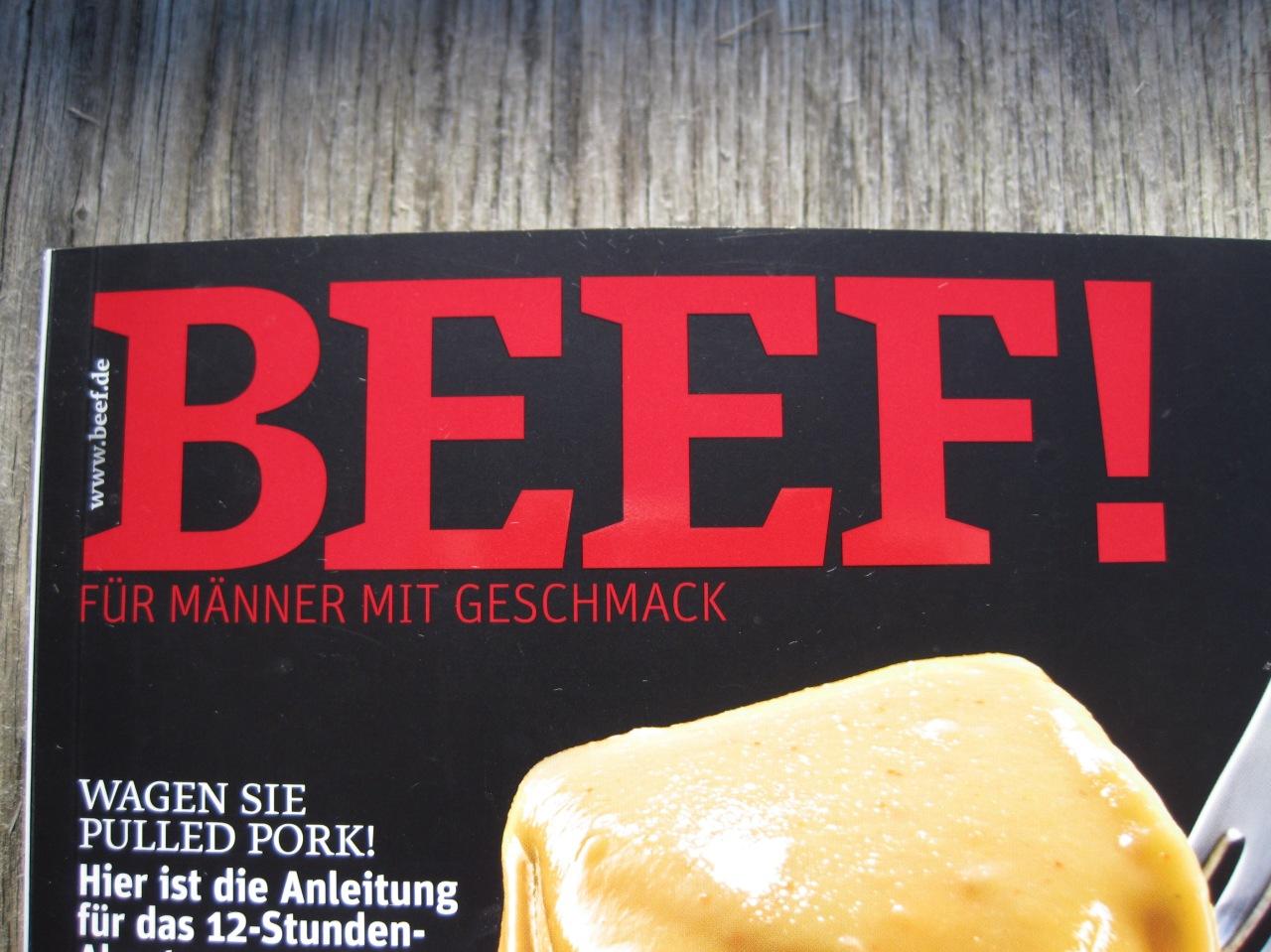 BEEF! – Kochen fürMänner