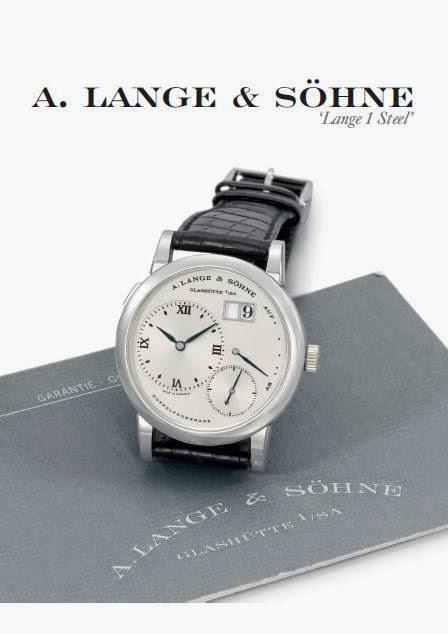 A. Lange & Söhne Lange 1 steel