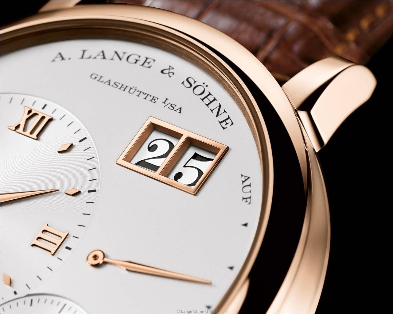A. Lange & Söhne – die Lange1