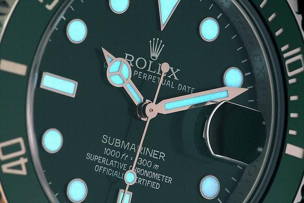 Rolex Submariner 116610 LN –Blattvarianten