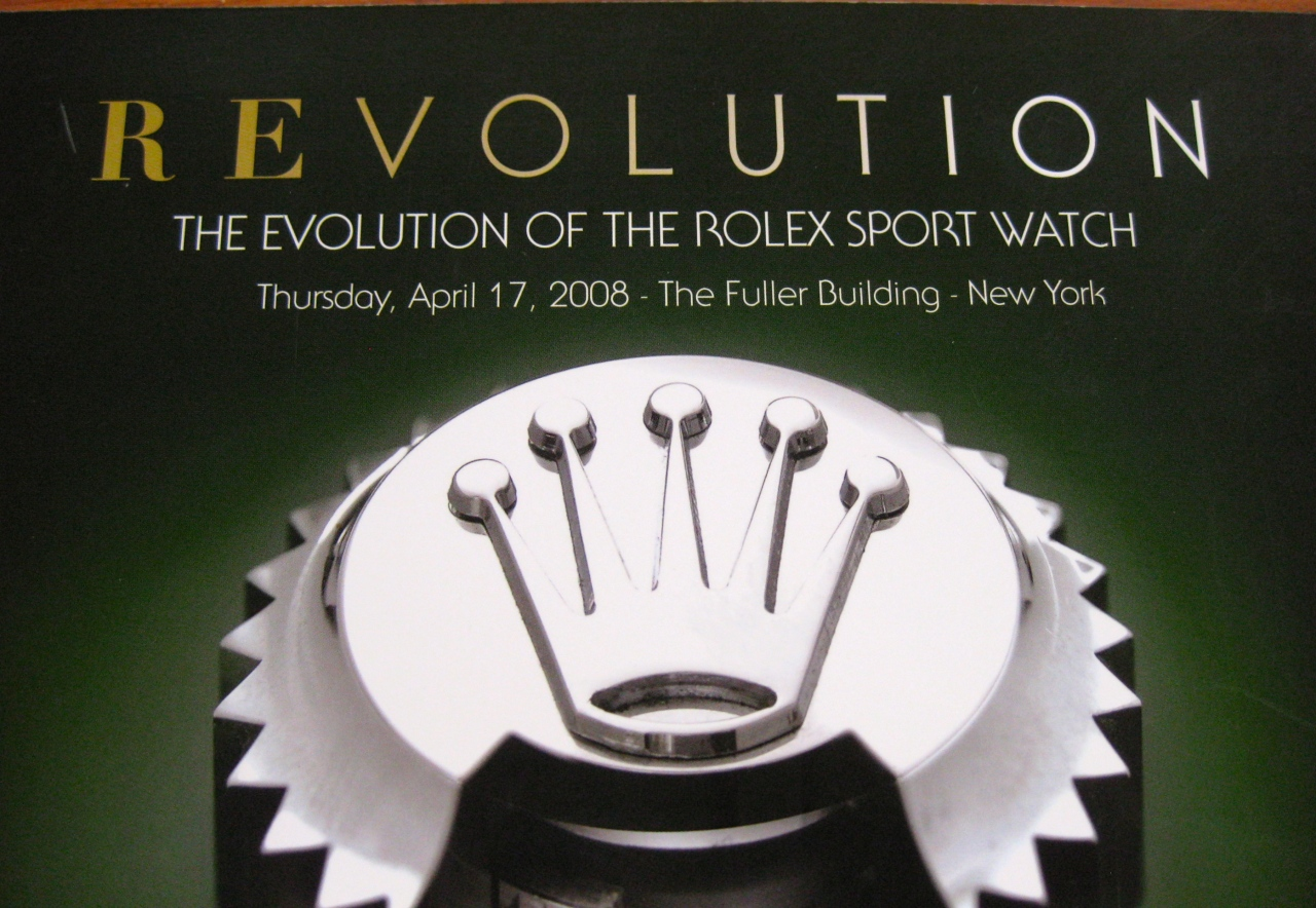 Antiquorum – The Evolution of the Rolex Sport Watches
