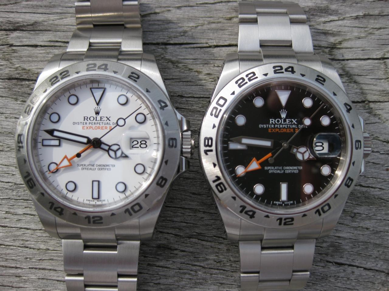 Schwarz / Weiß – die Explorer IIZwillinge