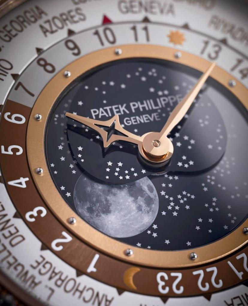 Patek Philippe World Time Moon dial
