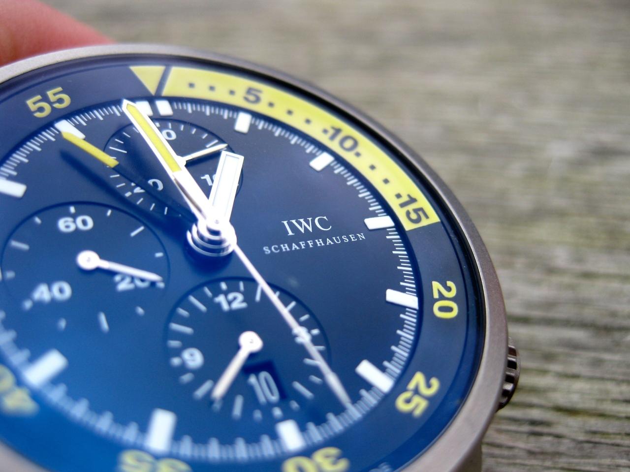 Die IWC Aquatimer Split Minute- der ewigeTaucher