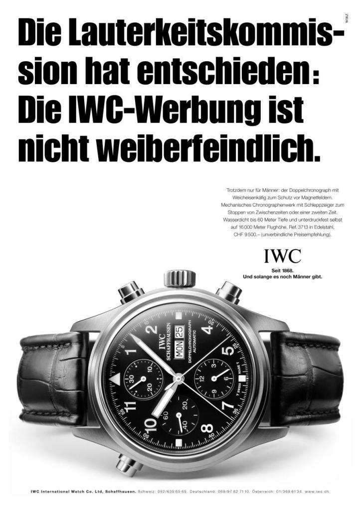 iwc-die-lauterkeitskommission-hat-entschieden-die-iwc-werbung-ist-nicht-weiberfeindlich