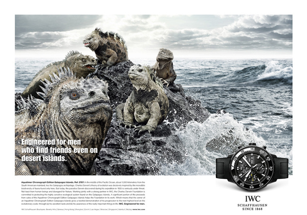 Relojes por la naturaleza IWC