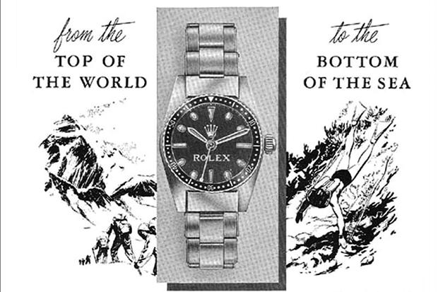 Rolex Advertising – Teil1