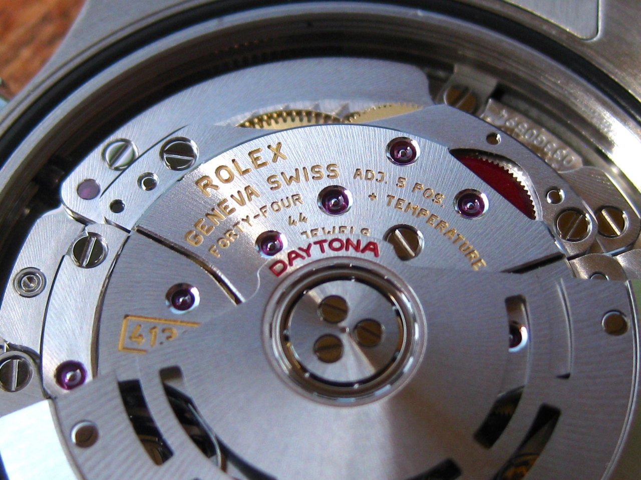 Rolex Daytona –Tuning