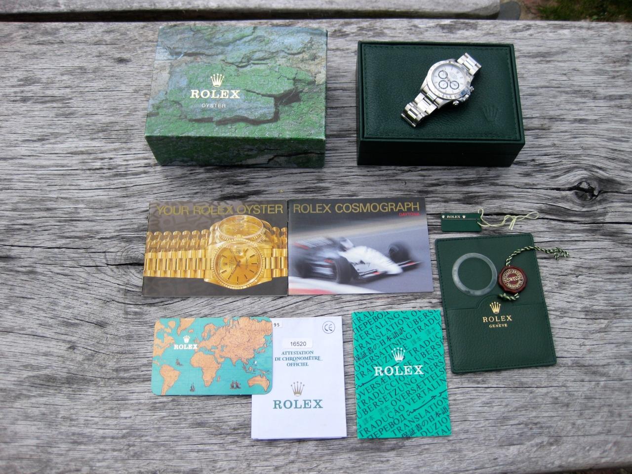 Rolex – Full Set &Co.