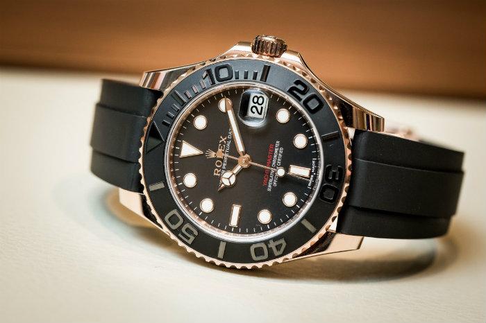 Rolex Submariner Mit Kautschukband