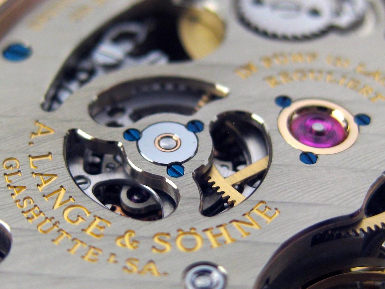 A. Lange & Söhne – Kaliber L044.1Closeup