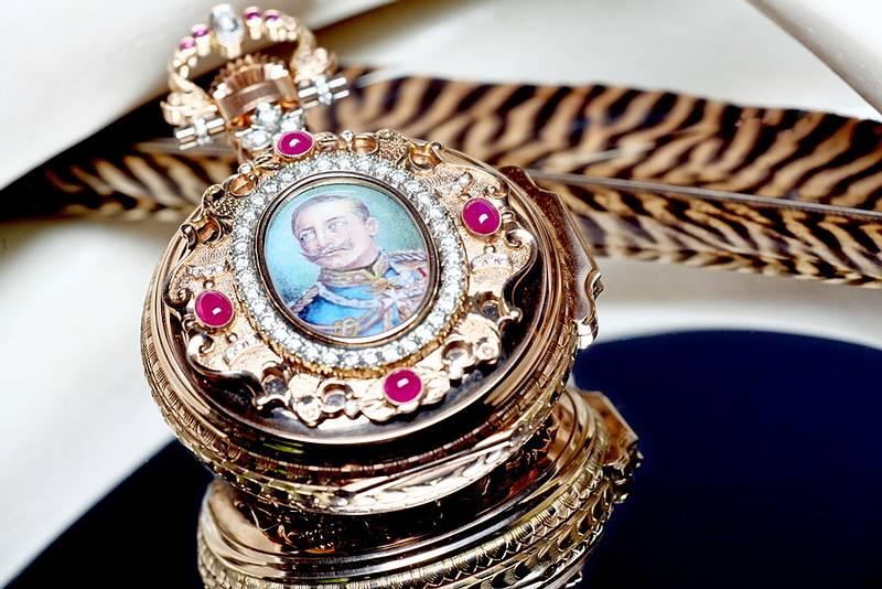 Die Kaiser Wilhelm II.Taschenuhr