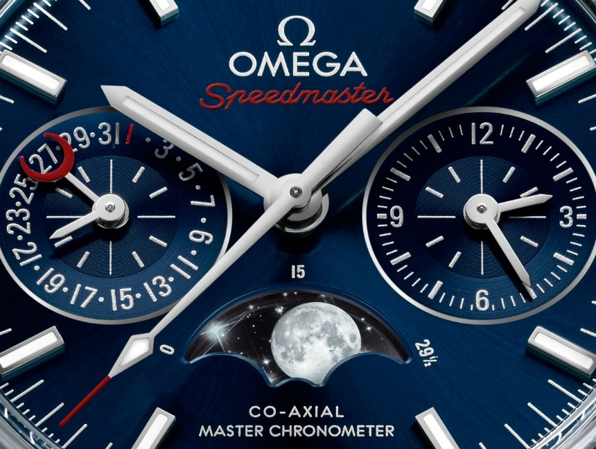 Omega Speedmaster Moonphase2016