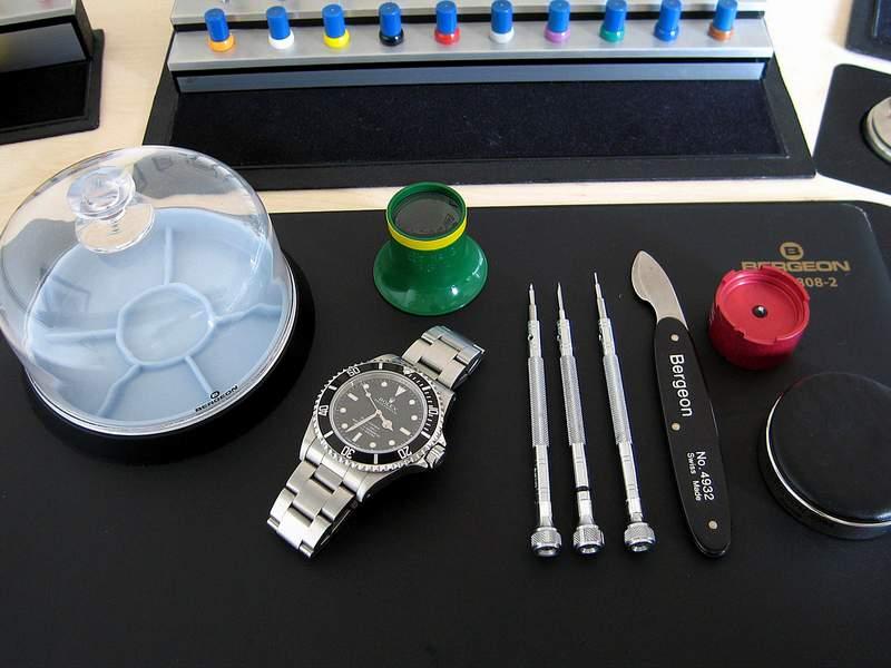 Manons Art der Aufbereitung einer RolexSubmariner