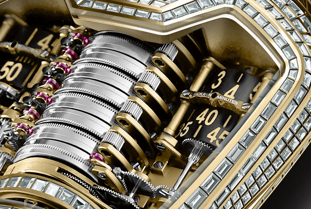 Hublot MP-05 LaFerrari Golden Jubilee close-up