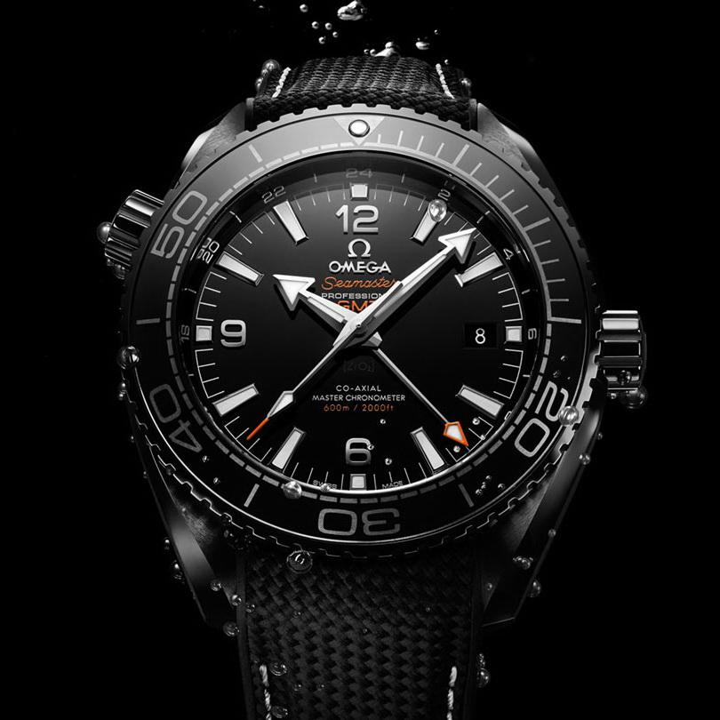 OMEGA Seamaster Master Chronometer DEEP BLACK 05