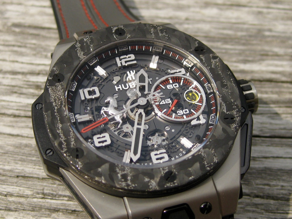 Hublot Big Bang Ferrari Titan Carbon – into the details