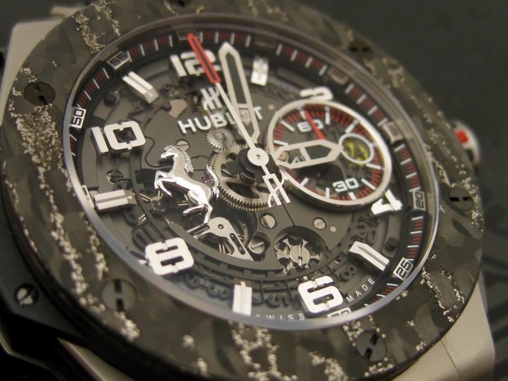 Hublot Big Bang Ferrari – CloseUp
