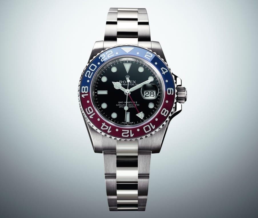 Rolex Blau Rot