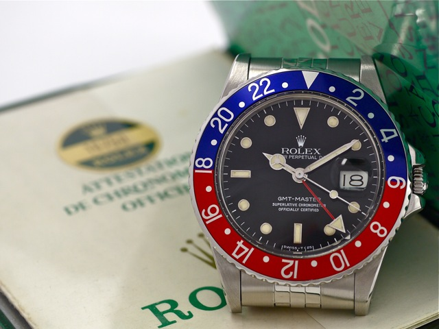 Die Rolex GMT-Master – into thedetails