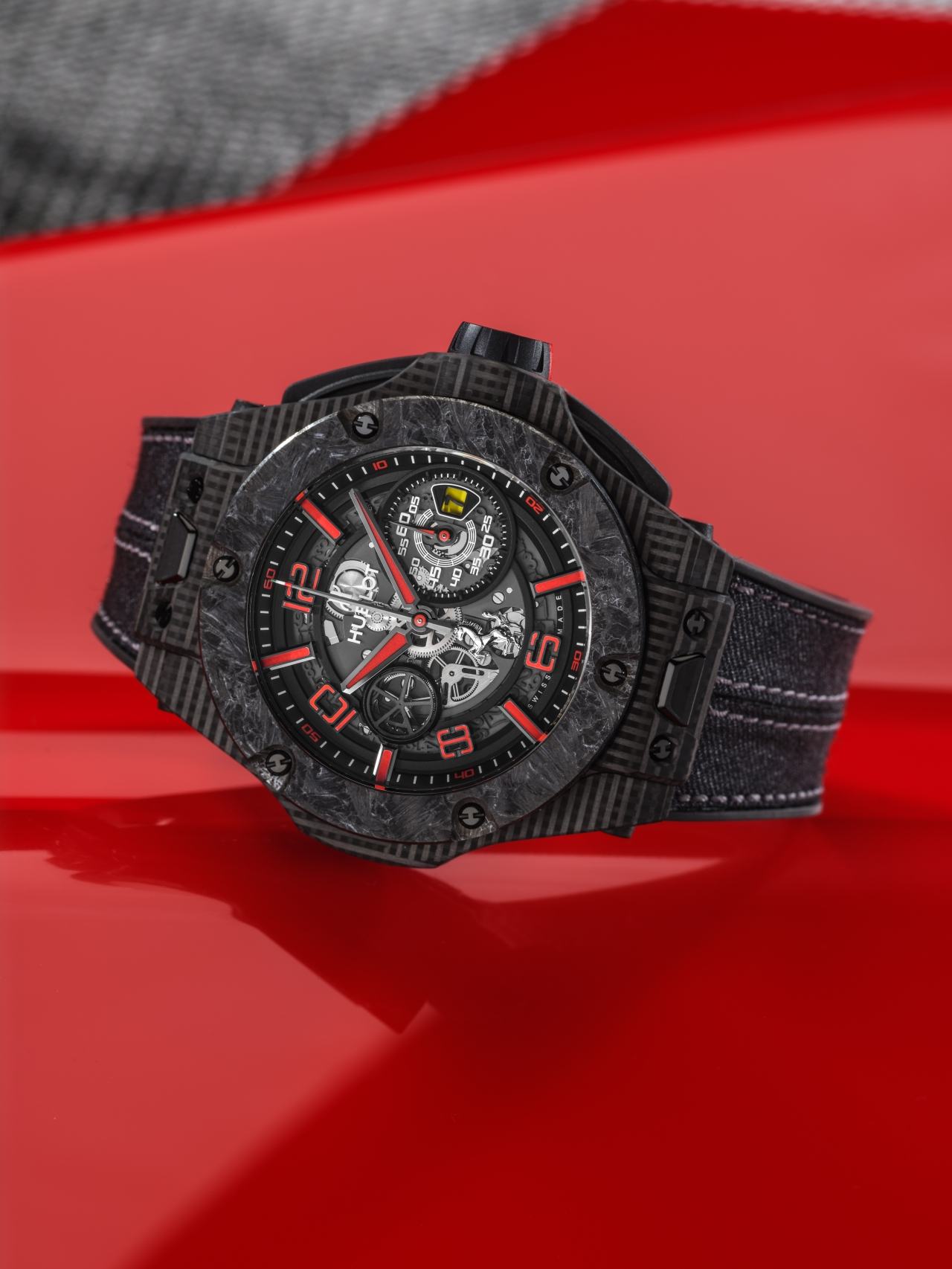 Hublot Big Bang Scuderia Ferrari 90th Anniversary 3D Carbon