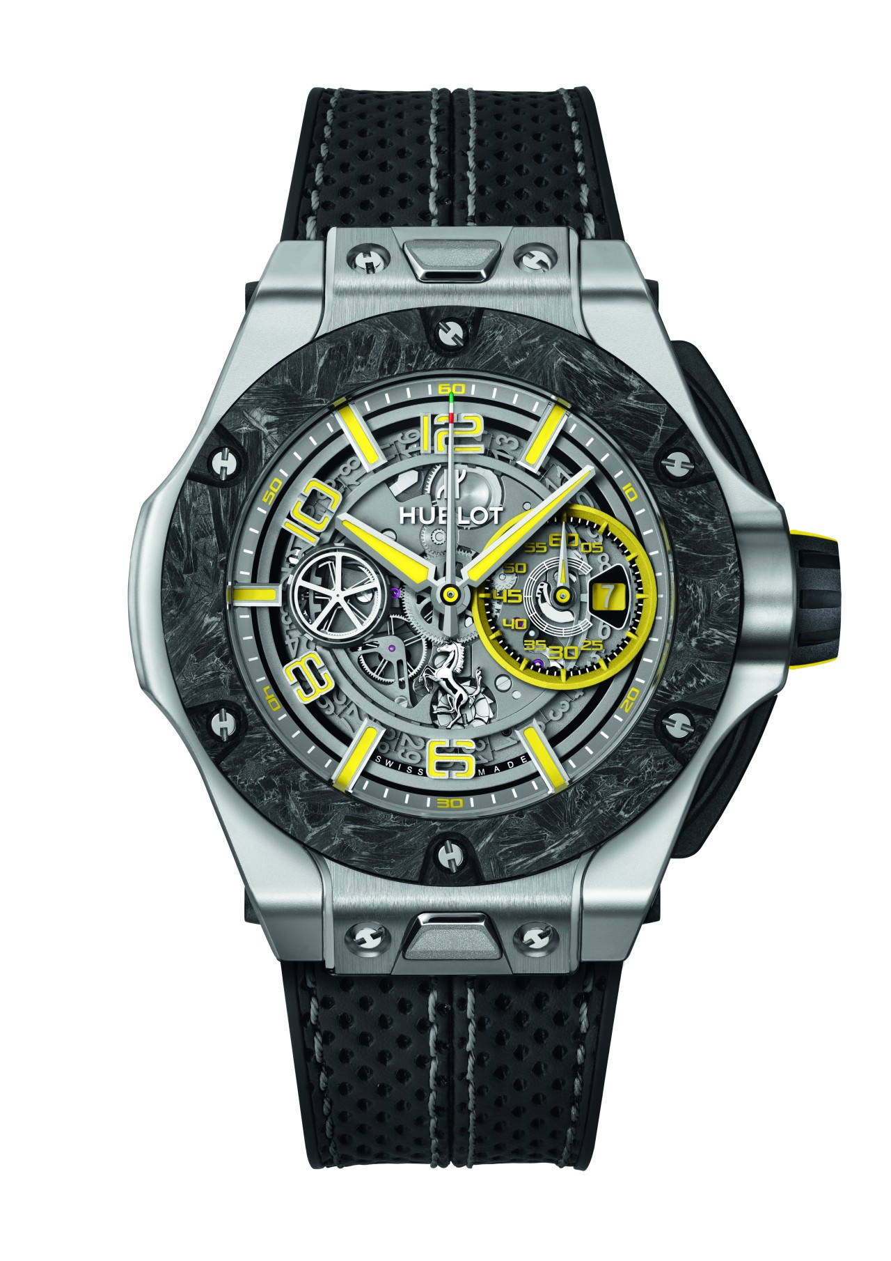 Hublot Big Bang Scuderia Ferrari 90th Anniversary Platinum 402.TQ.0129.VR-SD-HR-W