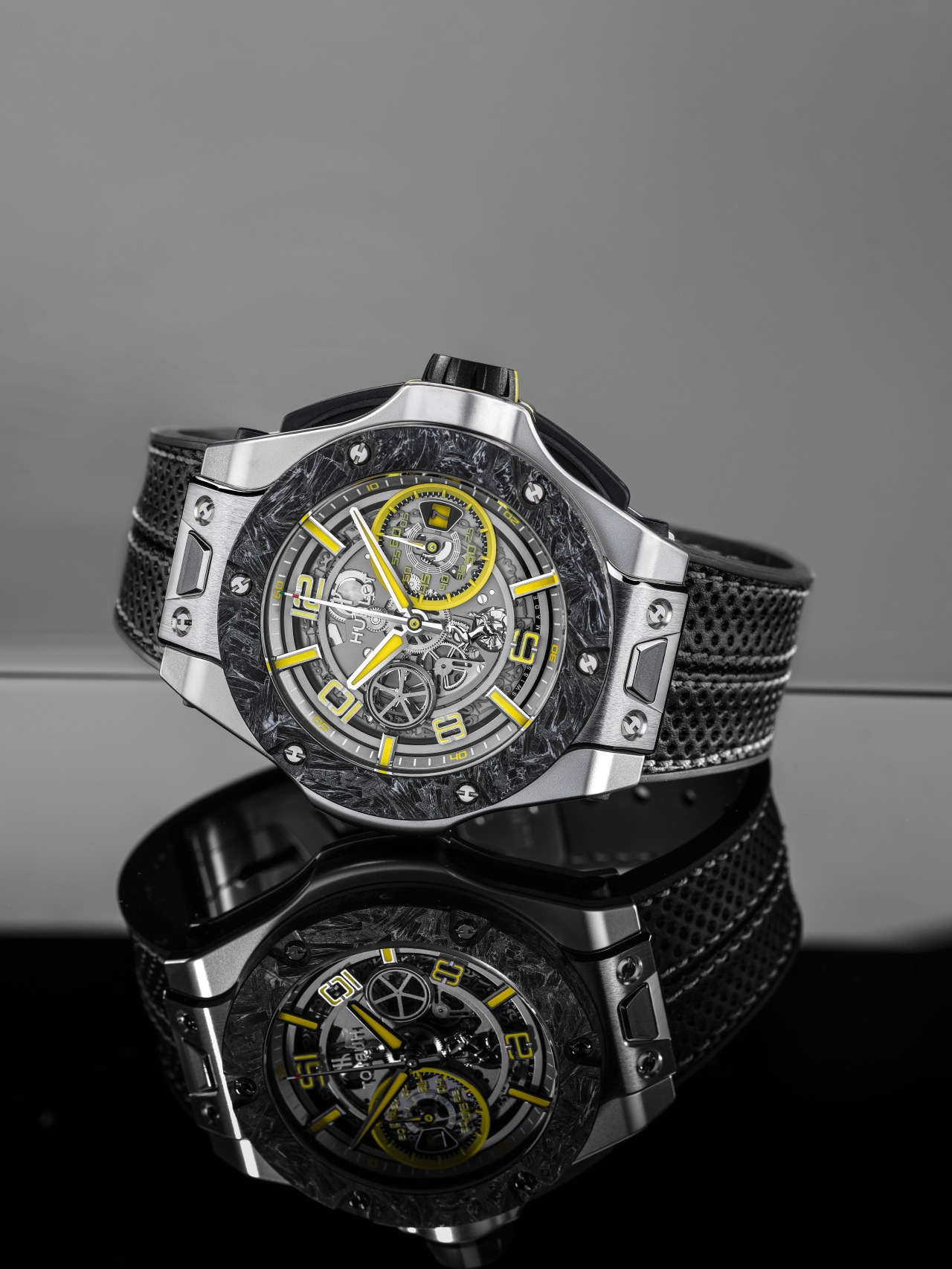 Hublot Big Bang Scuderia Ferrari 90th Anniversary Platinum