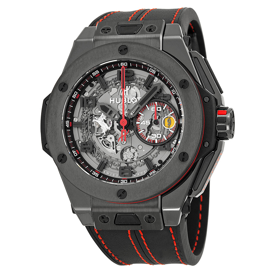 hublot-ferrari-all-black-limited-automatic-openwork-dial-black-ceramic-mens-watch-401cx0123vr1