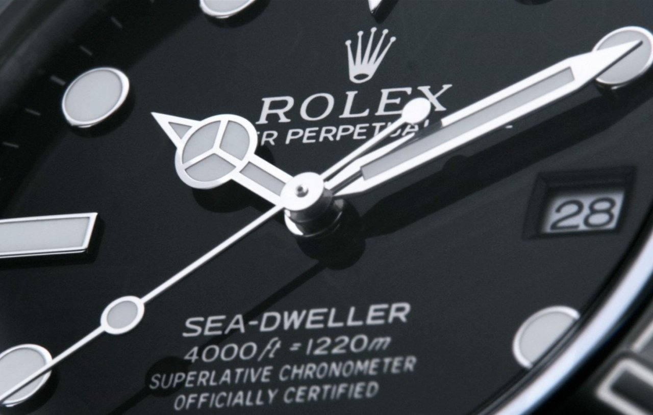 Die Rolex Sea Dweller – into thedetails