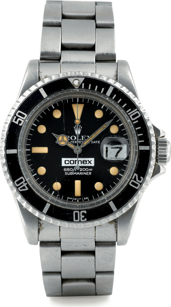 April Rolex Auctio