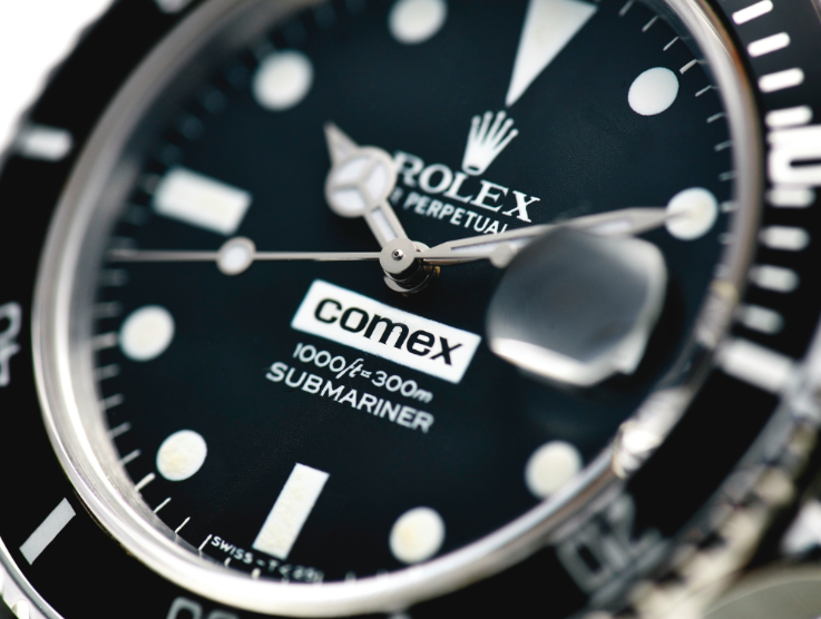 Rolex Comex – into thedetails