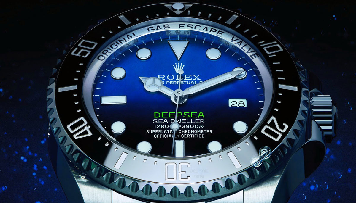 James Cameron Gets A Special Rolex Deepsea Watch Made In Honor Of Him And His New Film