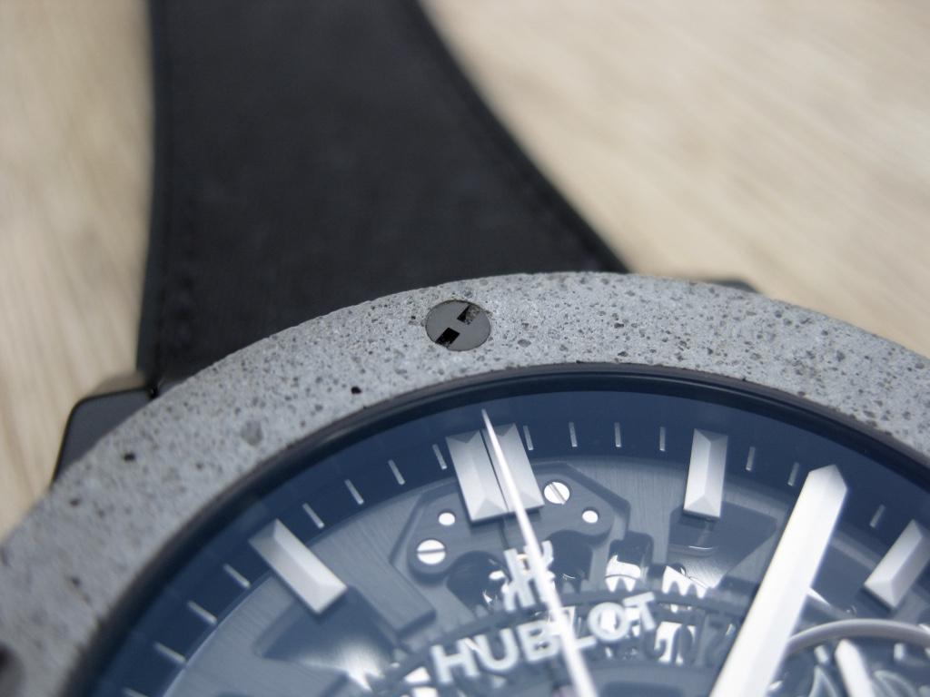 Die Hublot Aerofusion Concrete Jungle