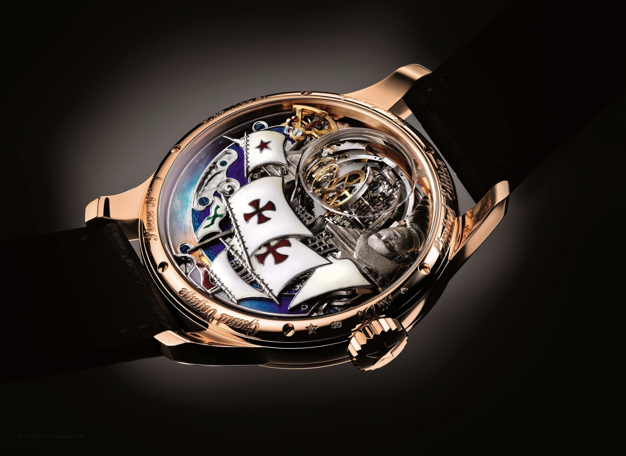 Zenith Hurricane Grand Voyage Christophe Colomb