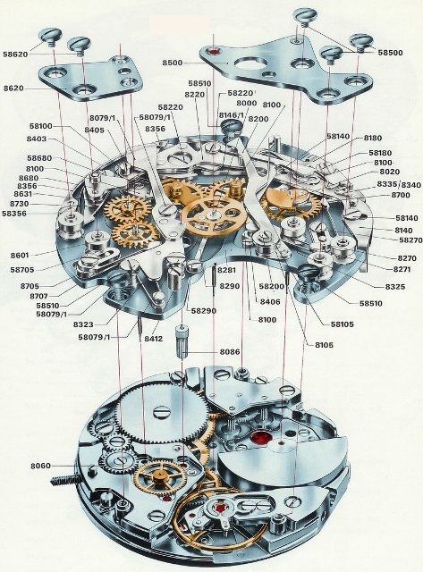 hamilton-chrono-matic-caliber-11-chronograph-movement-exploded-view1