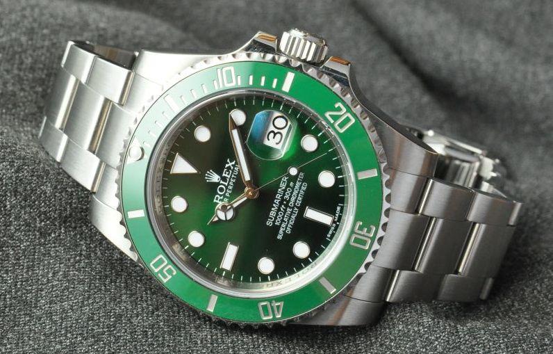 """Rolex – die Zifferblattvarianten der Ref. 116610LV """"Hulk"""""""
