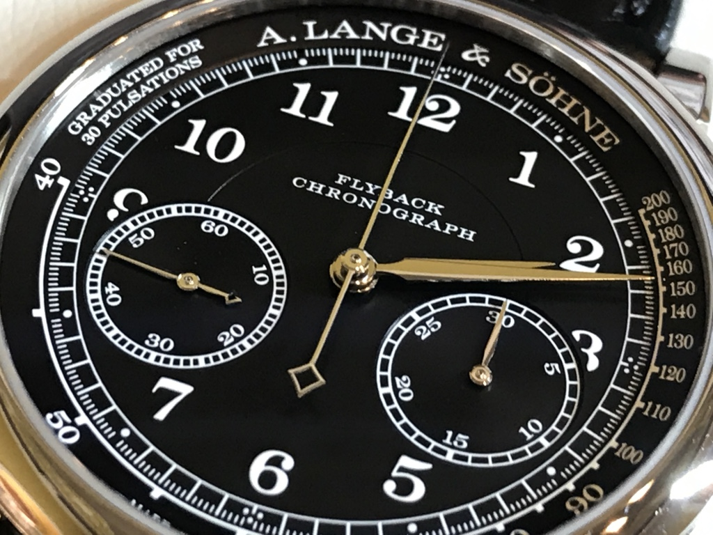 A. Lange & Söhne – 1815 ChronographSchwarz-Weiß