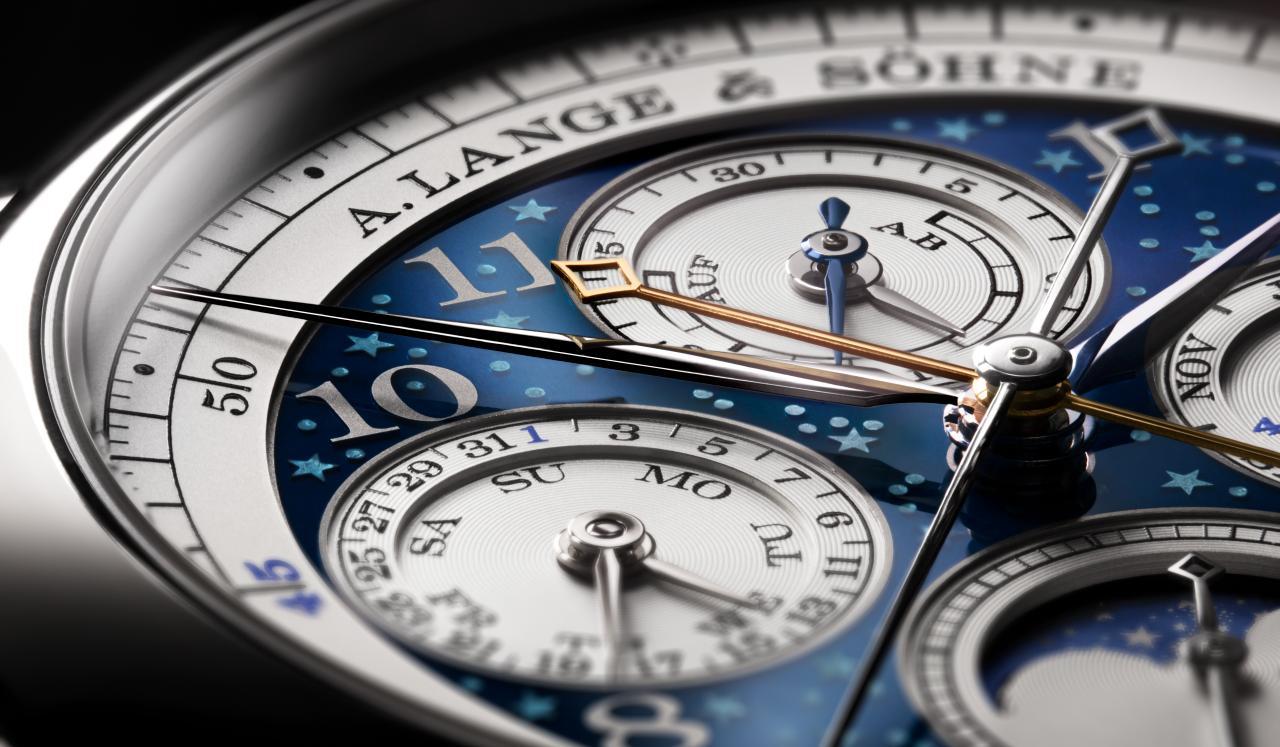 A. Lange & Söhne – 1815 Chronograph Rattrapante Ewiger KalenderHandwerkskunst