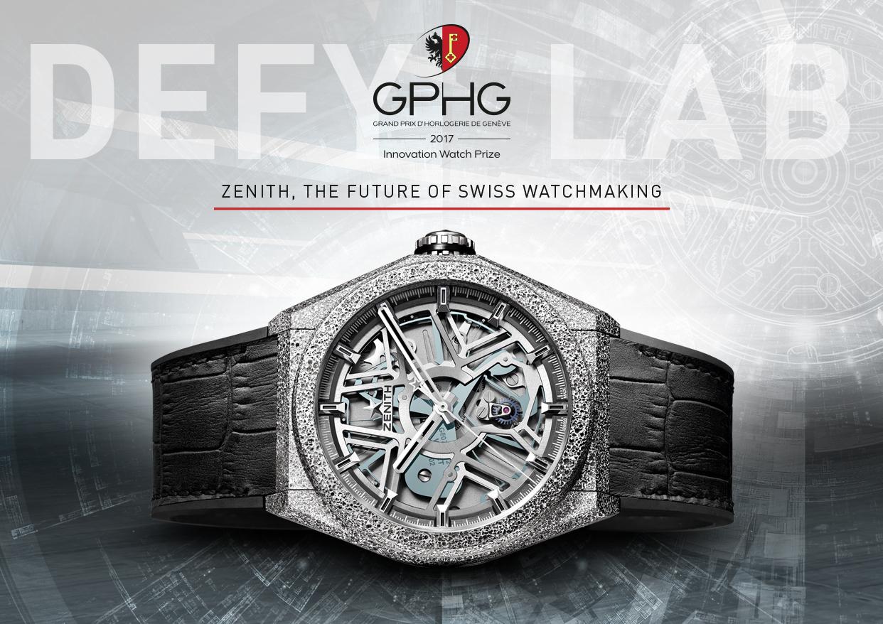 Grand Prix d´Horlogerie de Genéve – Innovationspreis fürZenith