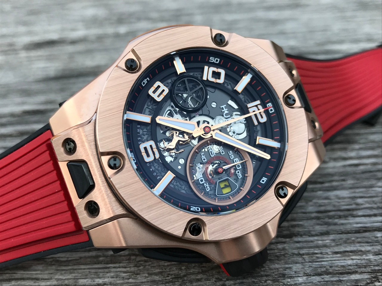 Hublot Ferrari King Gold