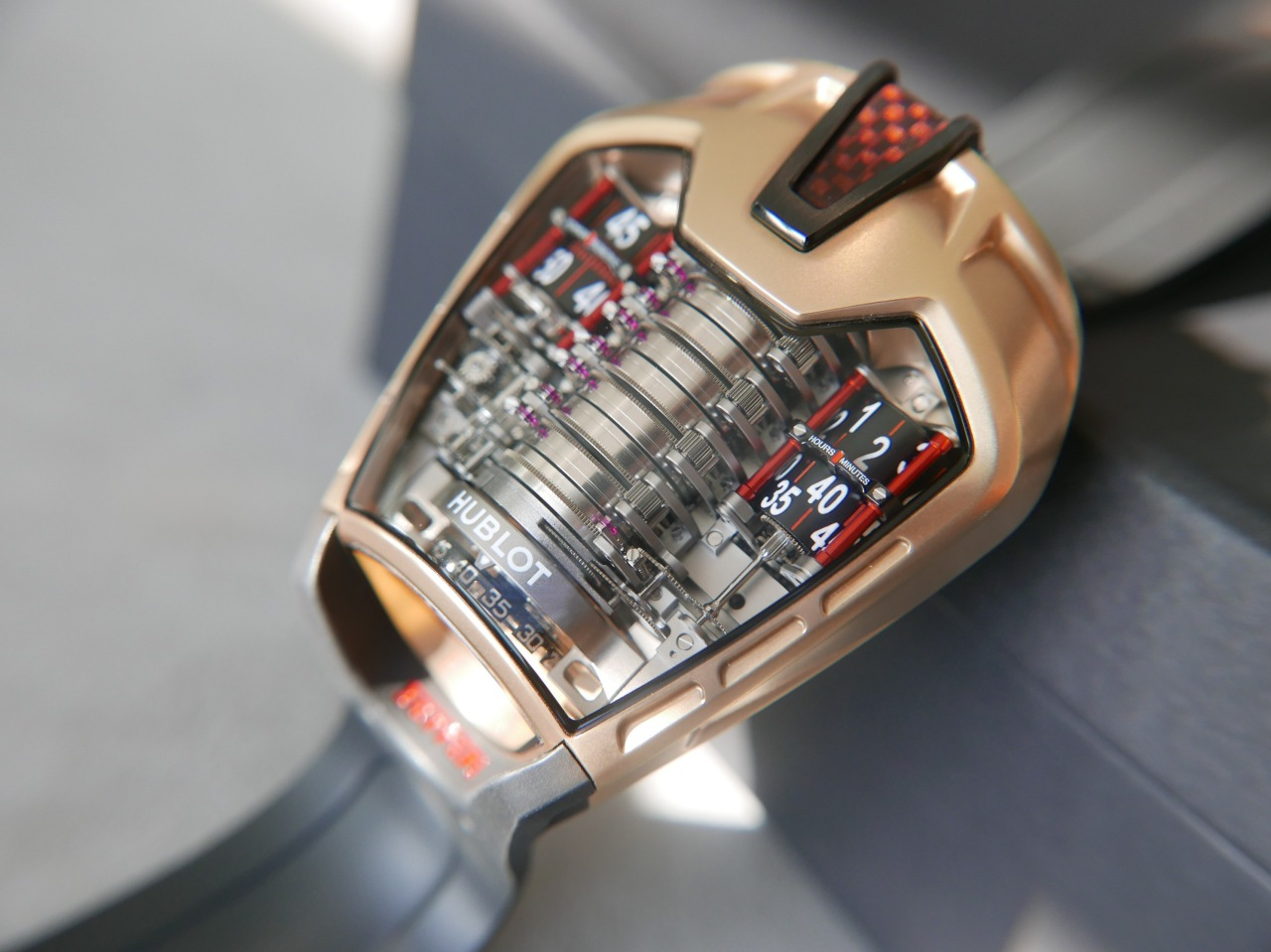 Hublot MP-05 LaFerrari – An Engine For TheWrist