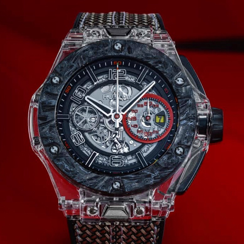 Die Hublot Big Bang Scuderia Ferrari 90th Anniversary