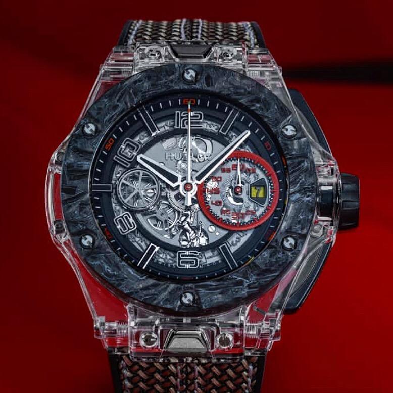 Die Hublot Big Bang Scuderia Ferrari 90thAnniversary