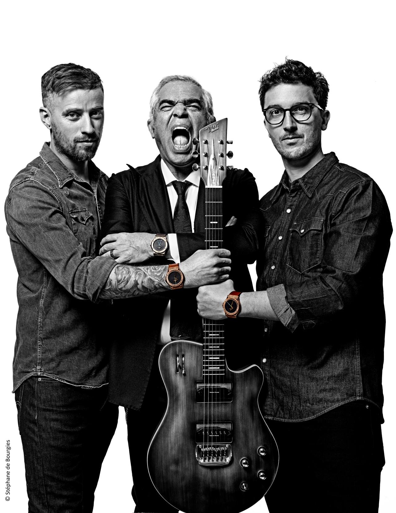 Julien Roure, Laurent Picciotto, Blaise Rodier HD